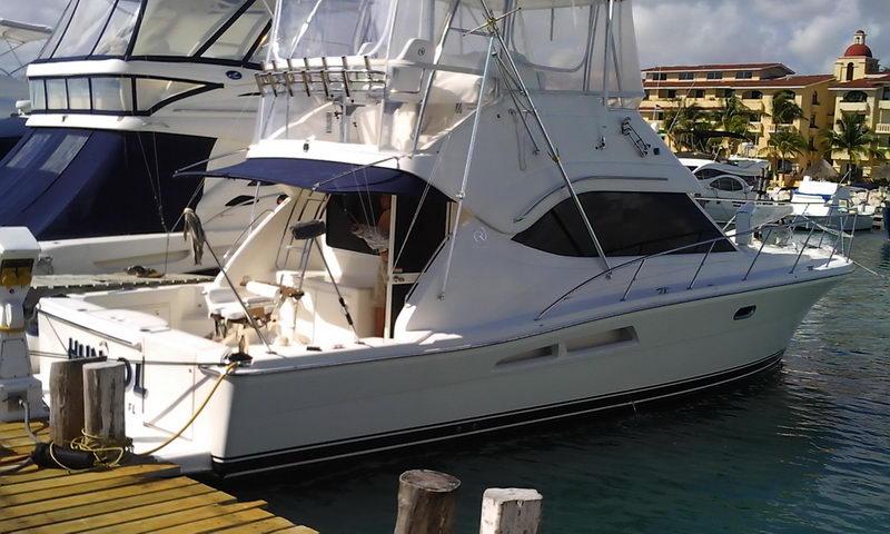 Fishing boat cancun riviera 43 sailfish isla mujeres marlin for Deep sea fishing riviera maya