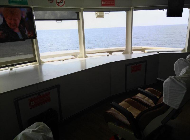 fast Shuttle boat Crossing Cozumel Island