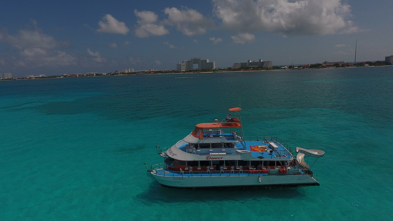 Image result for isla mujeres boat ride