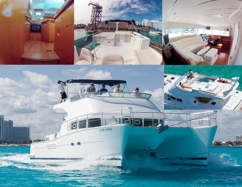 Power Lagoon Catamaran Cancun