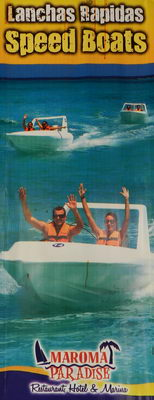 speed boat Playa del Carmen