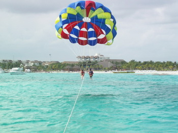 Parasail flying