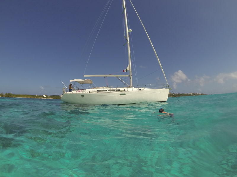 Sailboat For Rent Odyssey Jeanneau To Sailing Cancun Isla Mujeres