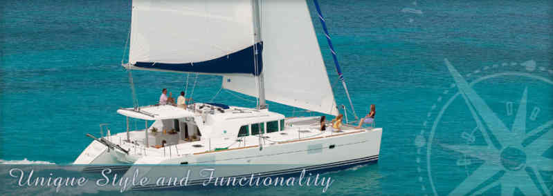 Cancun sailing vacations Catamaran