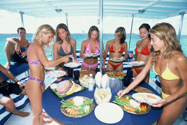 58 Ft Boat Private Tours Diving Charter Riviera Maya